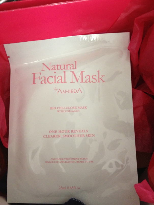 Review of Ashieda Facial Mask
